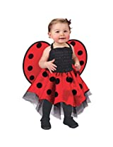 Ladybug Costume Baby One Size (Up to 24 months)