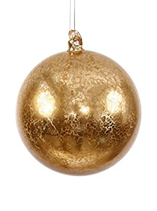 Winward Ball Ornament, Antique Gold