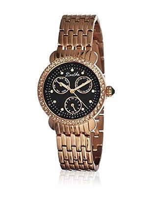 Bertha Uhr mit Japanischem Quarzuhrwerk Daniella goldfarben 40 mm