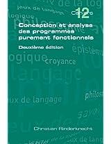 Conception Et Analyse Des Programmes Purement Fonctionnels Deuxieme Edition