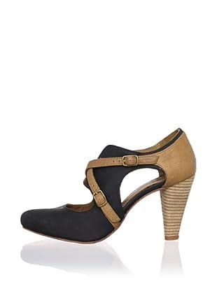 J. Shoes Women's Cherry Pump (Black/tan)