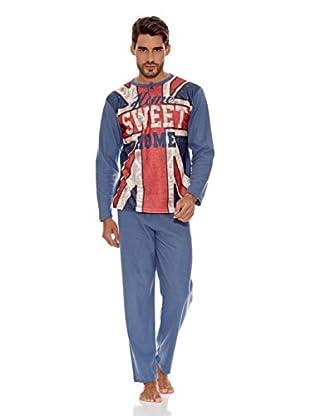 Muslher Pijama Caballero (Azul)