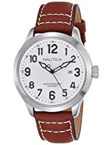 Nautica Sports Analog White Dial Men's Watch - NAI10005G