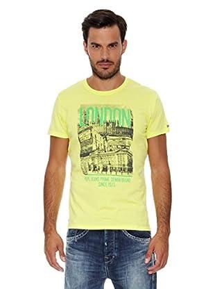 Pepe Jeans London Camiseta Warren (Amarillo)