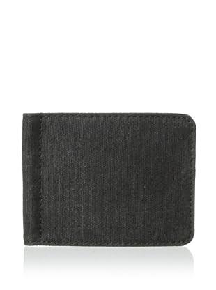Bosca Men's Field Money Clip Wallet (Gray/Dark Brown)