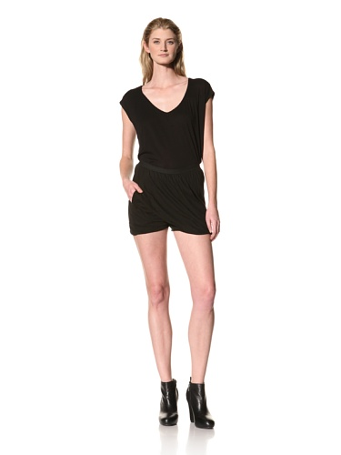 RICK OWENS Women's Pod Shorts (Black)