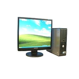 【クリックで詳細表示】19液晶 中古PC DVDコンボ DELL OptiPlex GX520SF Pentium4 HT 2.8GHz WindowsXP(dtb-177)