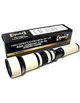 Opteka 650-1300mm High Definition Telephoto Zoom Lens for Canon EOS 7D 6D 5D 1DX 70D 60D 50D 40D T5i T4i T3i T3 T2i and SL1 Digital SLR Cameras