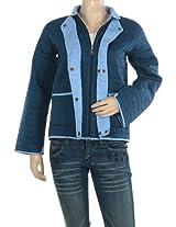 Rajrang High Quality Cotton Checkered Blue Jacket