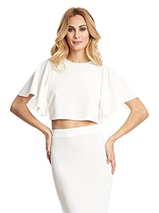 Rare London Blusa Cape Sleeve Top