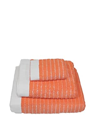 Reig Marti Juego de Toallas Lua 100% Algodón (Naranja)