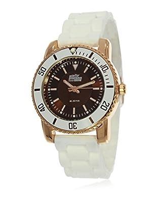 Pit Lane Uhr mit Miyota Uhrwerk Pl-3004-4 weiß 36 mm