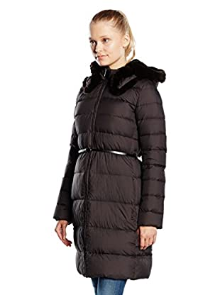 ADD Plumas Largo Down Coat Reversible Hood And Fur