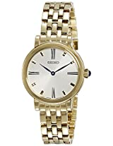 Seiko Analog White Dial Women's Watch - SFQ814P1
