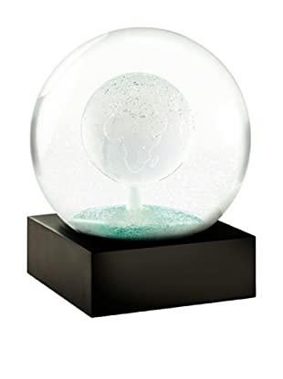 CoolSnowGlobes Crystal Earth Snow Globe