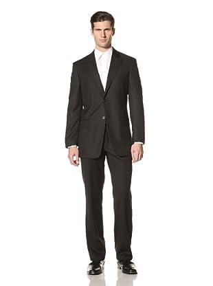 Versace Collection Men's Peaked Lapel Jacket (Black)