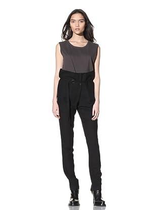 Ann Demeulemeester Women's Harem Trousers (Black)