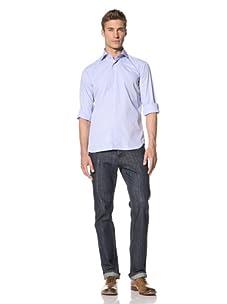 Orian Men's Microdot Shirt (Microdot Blue Print)