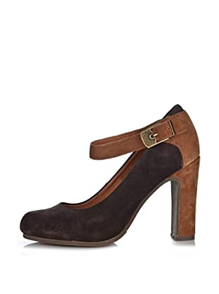 Scholl Contemporary Zapatos Irma (Marrón Oscuro)