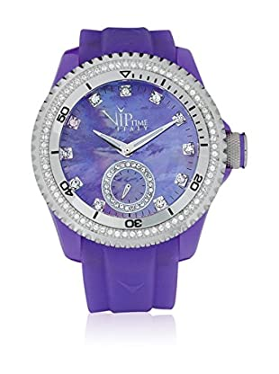 Vip Time Italy Uhr mit Japanischem Quarzuhrwerk VP8021VT_VT violett 43.00  mm