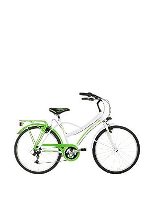SCHIANO Fahrrad 26 Cruiser 311 weiß/grün