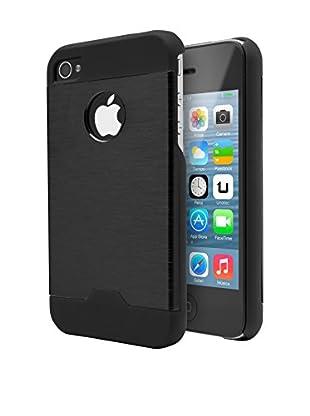 Unotec Funda Metal iPhone 4/4S Negro