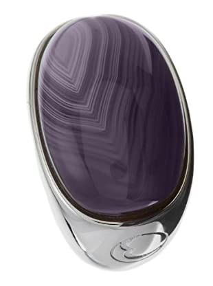 Esprit ESRG91484A - Soloist Agate - Anillo de mujer de plata de ley (plata / gris)