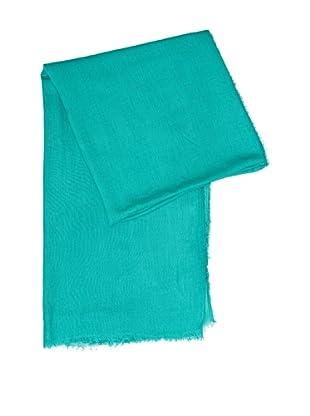 Cortefiel Foulard Liso Colores (Verde)