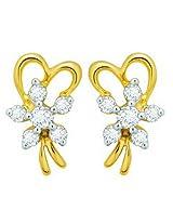 Avsar Gold and Diamond Earrings 044
