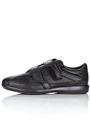 Lumberjack Zapatillas Velcro Walking (Negro)