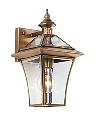 Safavieh Virginia 1-Light Sconce, Brass