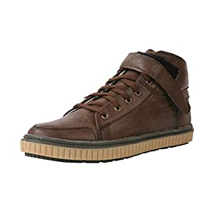Bacca Bucci Men's Leather Lace-up Shoes - Brown