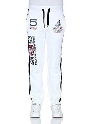 Geographical Norway Pantalón Myracing Men 100 (Blanco)