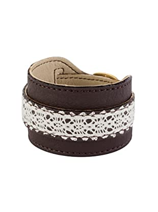Sence Copenhagen Armband Leather and Lace 41 cm