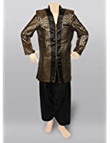 Exclusive Golden Coat Suit