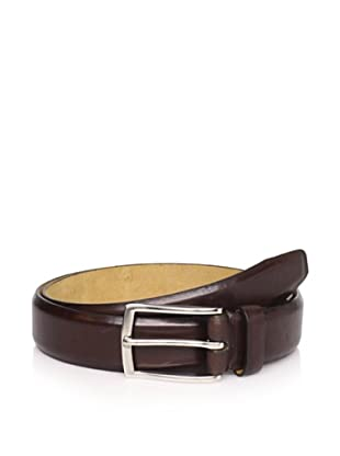 Joseph Abboud Men's Shiny Belt (Brown)