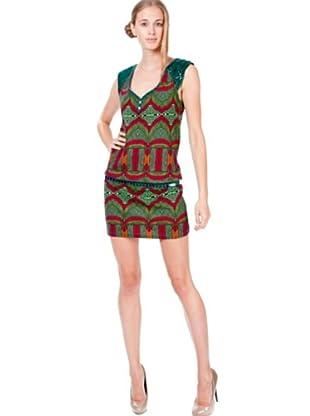 Custo Vestido Aina Malawi Verde (Verde)