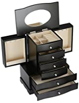 Diplomat 31-556 Jewelry Armoire Wood Watch Cabinet