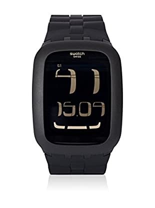 Swatch Quarzuhr Man BLACK BUMP SURB112 39.0 mm