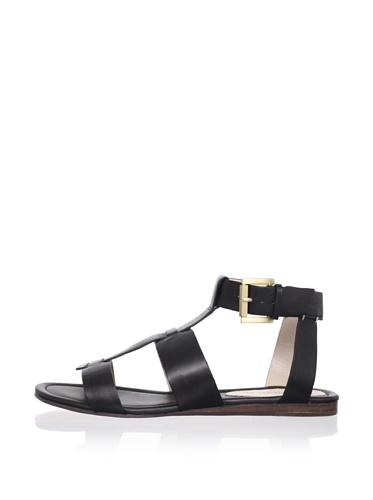Rosegold Women's Adrian Gladiator Sandal (Black)