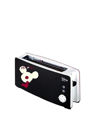 Ariete 127 Disney Milano Langschlitztoaster / 1000 Watt / 2-farbig / schwarz/rot