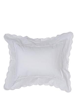 HomeTrends Cojín Emilia (Blanco)