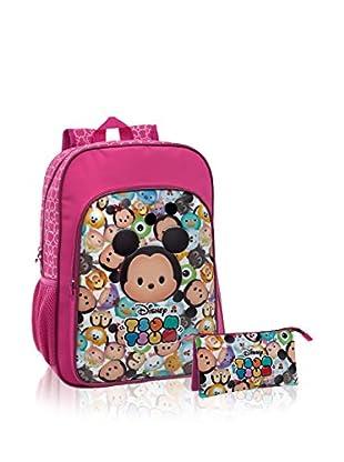Disney Rucksack + Etui Tsum Tsum Pink