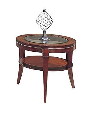Bassett Mirror Company Ashland Heights Round End Table, Cherry