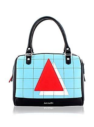 davidelfin Bolso asa de mano New Order Bag Azul