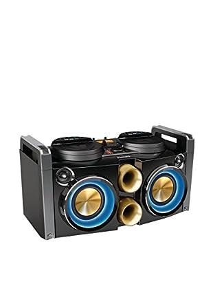 Philips NTRX100 - Microcadena Hi-Fi (Bluetooth, NFC, USB), negro