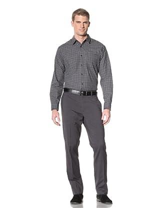 Elie Tahari Men's Julian Shirt (Black/Grey)