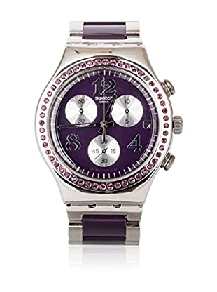 Swatch Quarzuhr Woman SECRET THOUGHT AUBERGINE YCS573G 40 mm