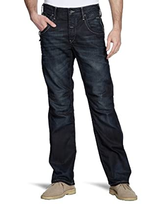 JACK & JONES Jeans Powel Loose Relaxed Fit (Azul Oscuro)