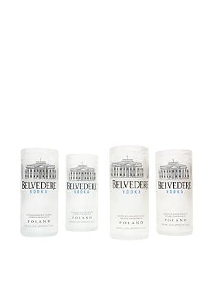 Set of 4 Belvedere Tumblers